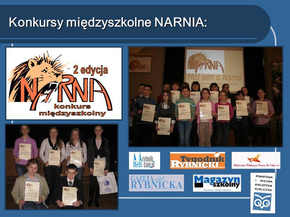 Konkursy międzyszkolne NARNIA: