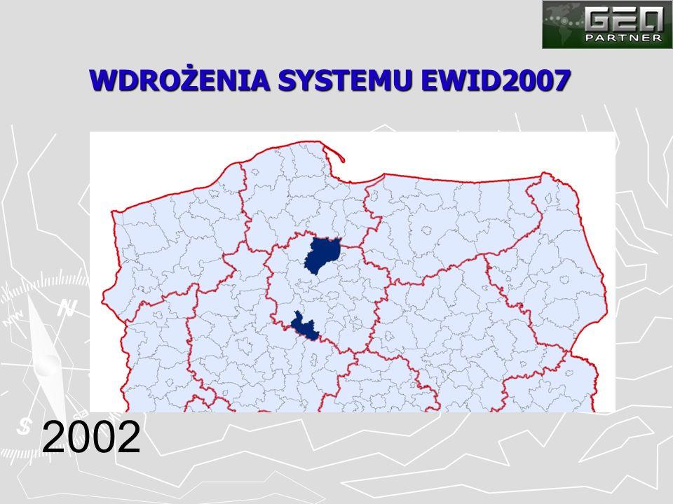 WDROŻENIA SYSTEMU EWID2007 2002
