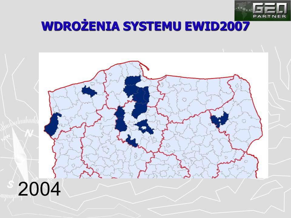 WDROŻENIA SYSTEMU EWID2007 2004