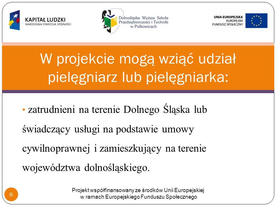 Wartość ogólna projektu: 749.550, 34 zł Dofinansowanie Unii Europejskiej – 85 proc.
