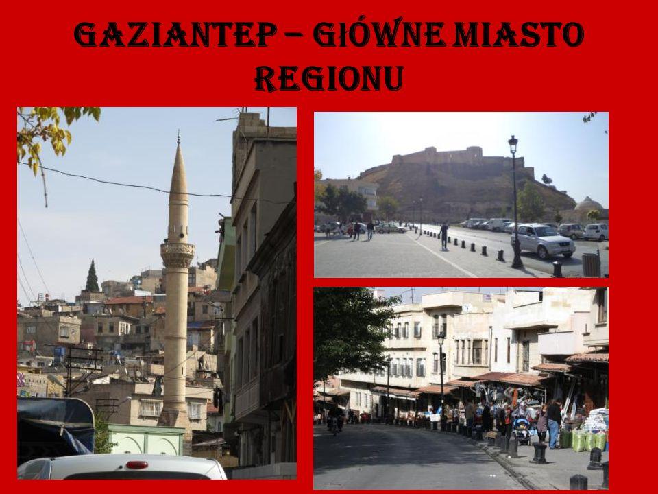 Gaziantep – g ł ówne miasto regionu