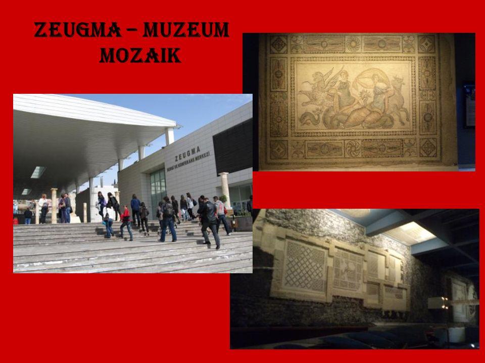 Zeugma – Muzeum Mozaik