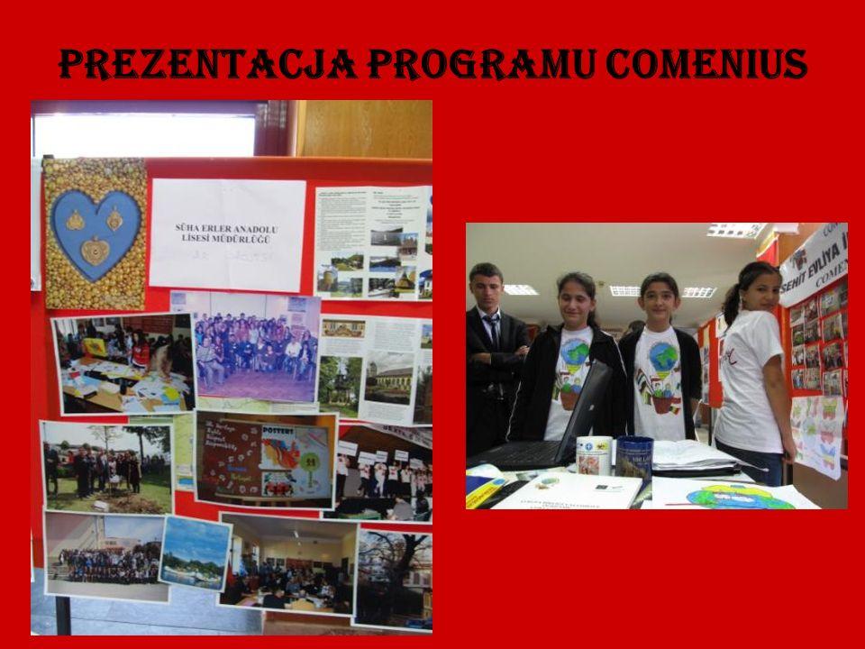 Prezentacja Programu Comenius