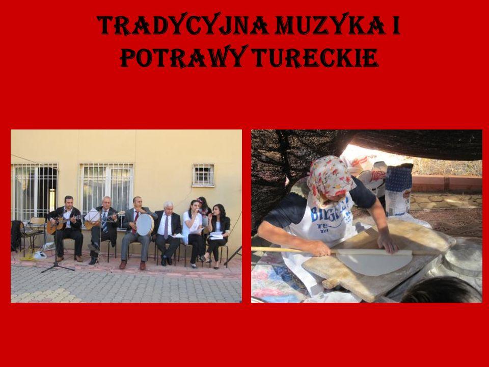 Tradycyjna muzyka i potrawy tureckie