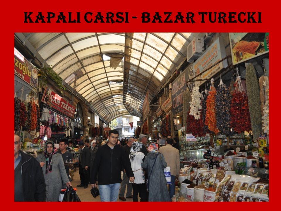 Kapali Carsi - bazar turecki