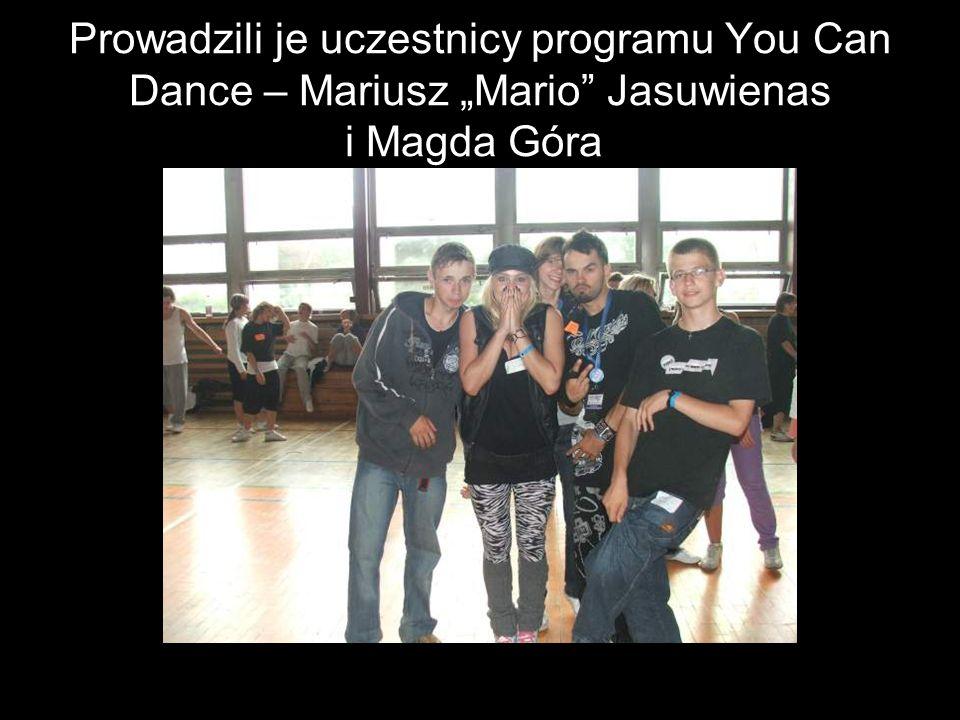 Prowadzili je uczestnicy programu You Can Dance – Mariusz Mario Jasuwienas i Magda Góra.
