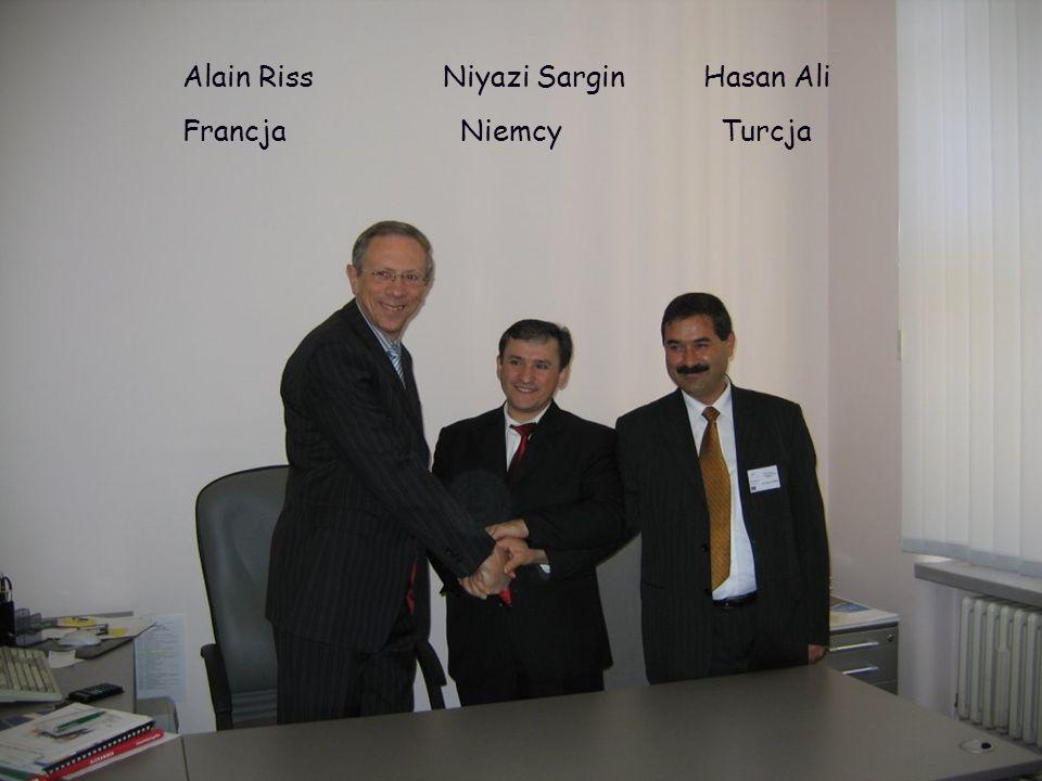 Alain Riss Niyazi SarginHasan Ali Francja Niemcy Turcja