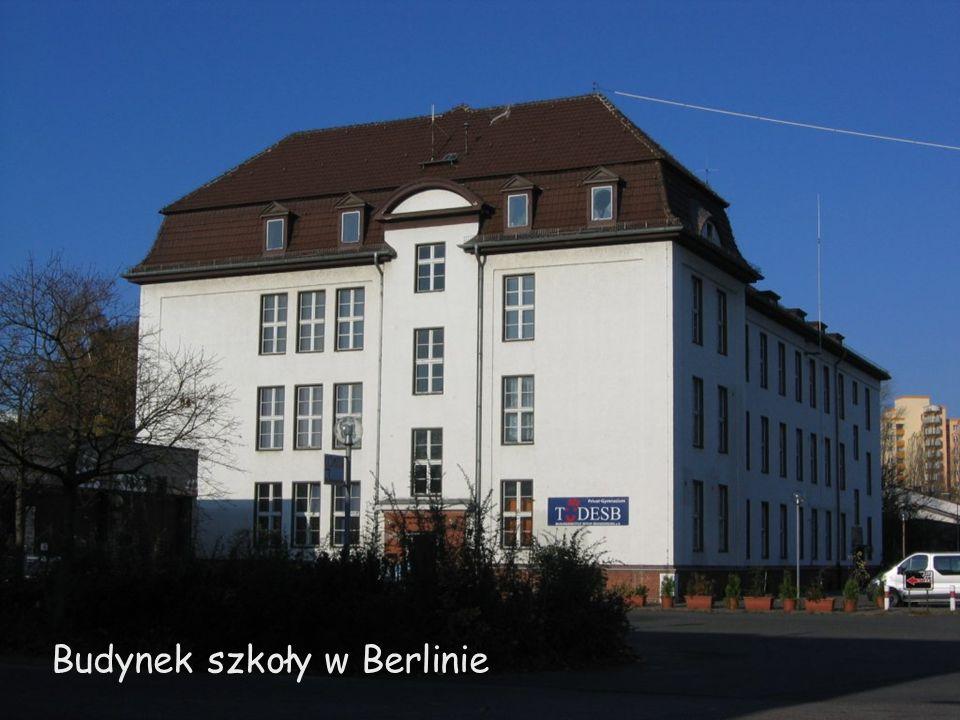 Budynek szkoły w Berlinie