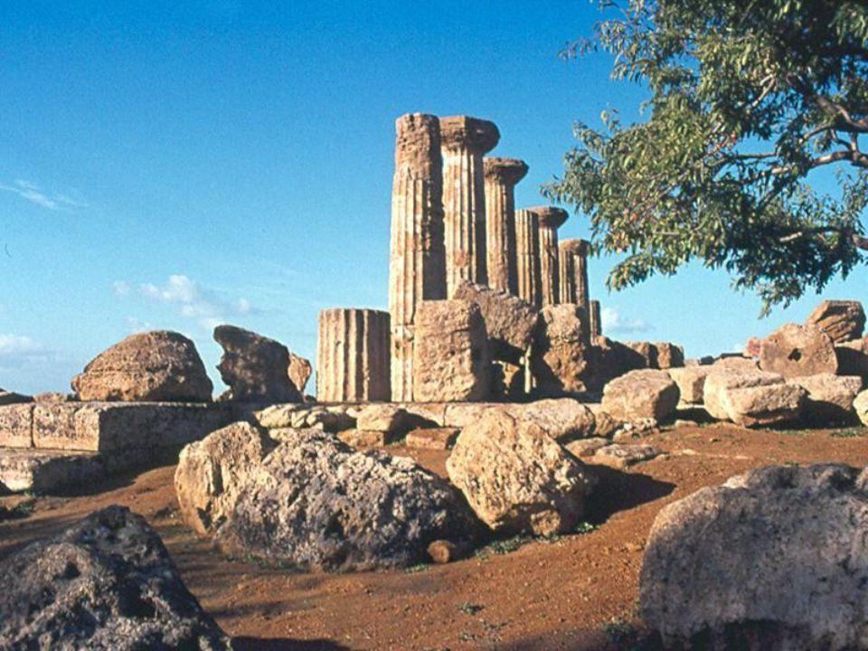 Segesta – dorycka świątynia Diany Vw.pne Segesta – temple grec à Diane