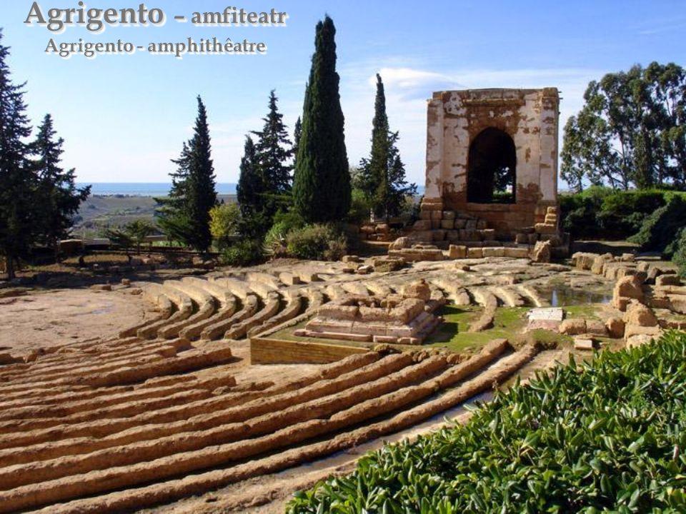 Agrigento – dolina świątyń Agrigento – vallée des temples