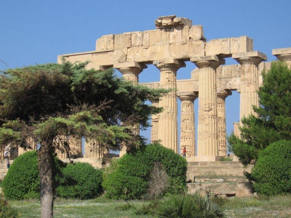 Agrigento – świątynia Concordii Agrigento – temple de la Concorde