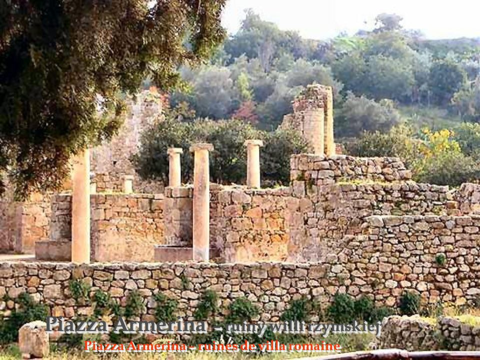 Rzymskie ruiny Ruines romaines