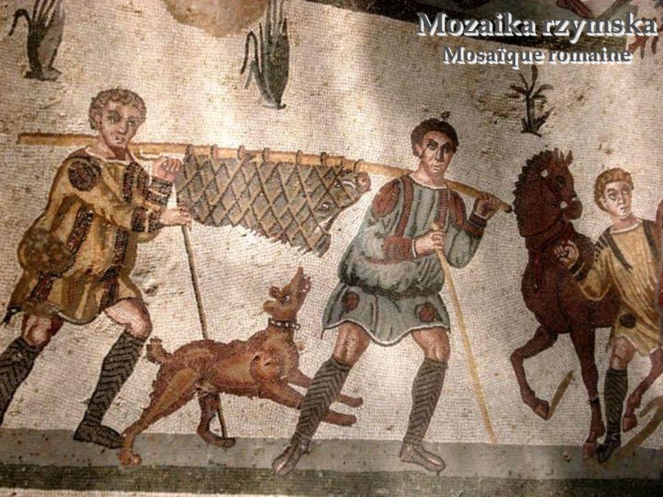Piazza Armerina – ruiny willi rzymskiej Piazza Armerina – ruines de villa romaine