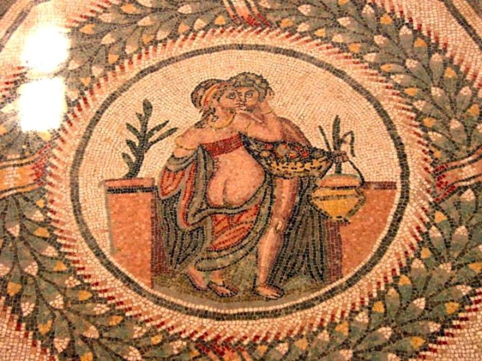 Mozaika rzymska Mosaïque romaine