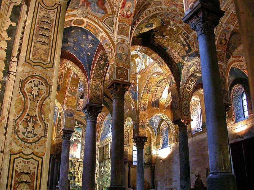 Monreale – katedra bizantyjska Monreale – cathédrale bysantine
