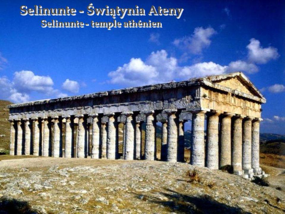Selinunte - Świątynia Ateny Selinunte - temple athénien