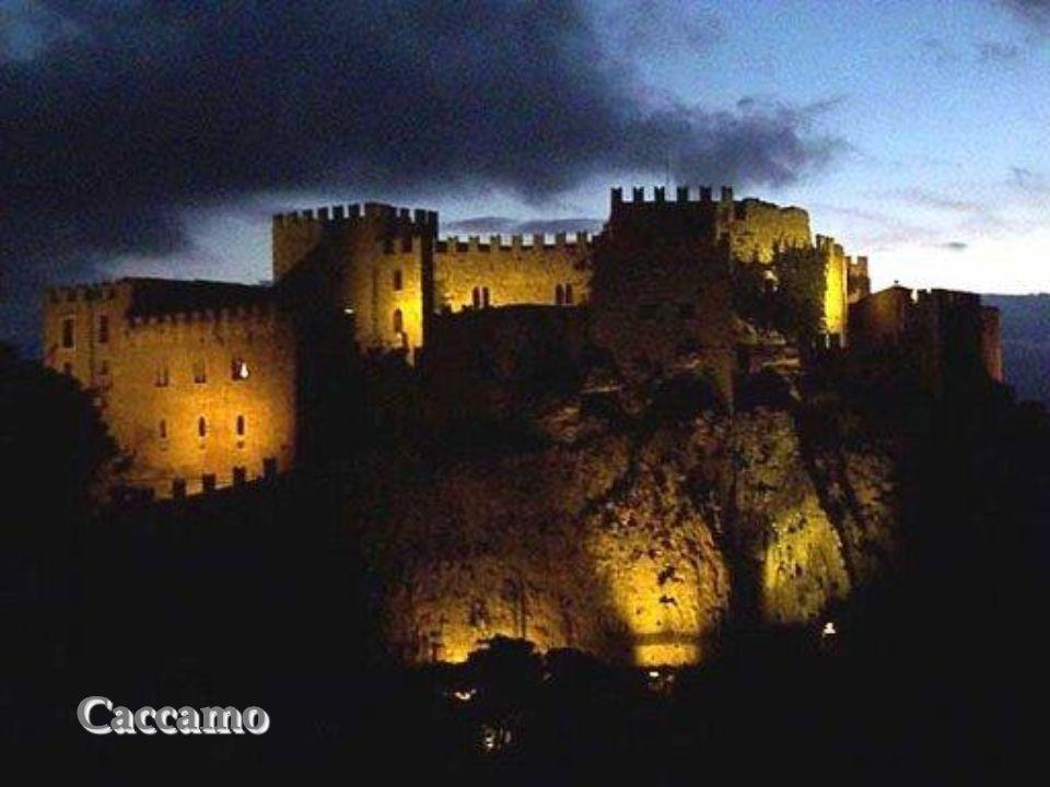 Caccamo – zamek normandzki Caccmo – château normand