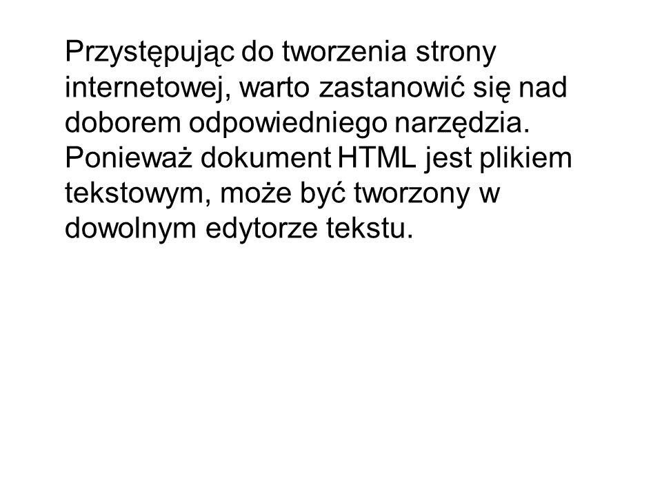 Podstawowym edytorem tekstu dostępnym w systemie Windows jest Notatnik.