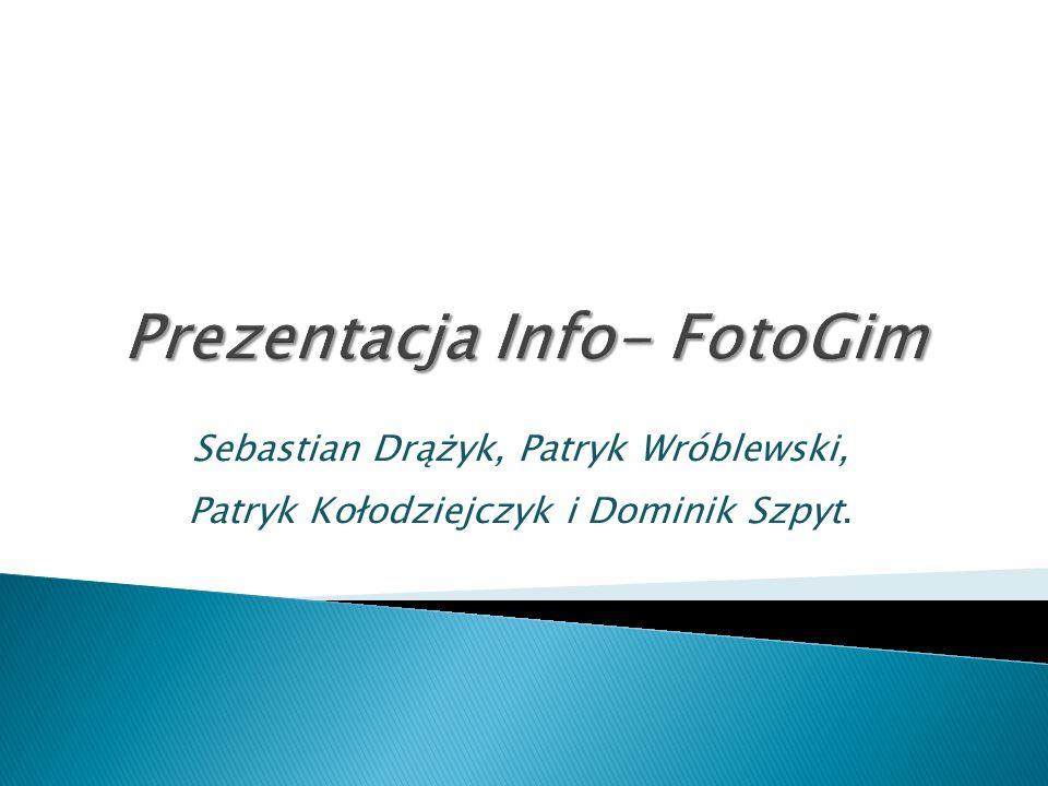 Sebastian Drążyk, Patryk Wróblewski, Patryk Kołodziejczyk i Dominik Szpyt.