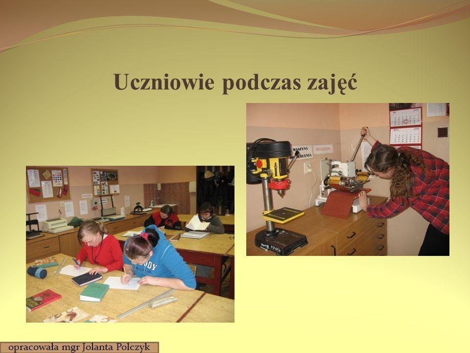 Prace introligatorów opracowała mgr Jolanta Polczyk