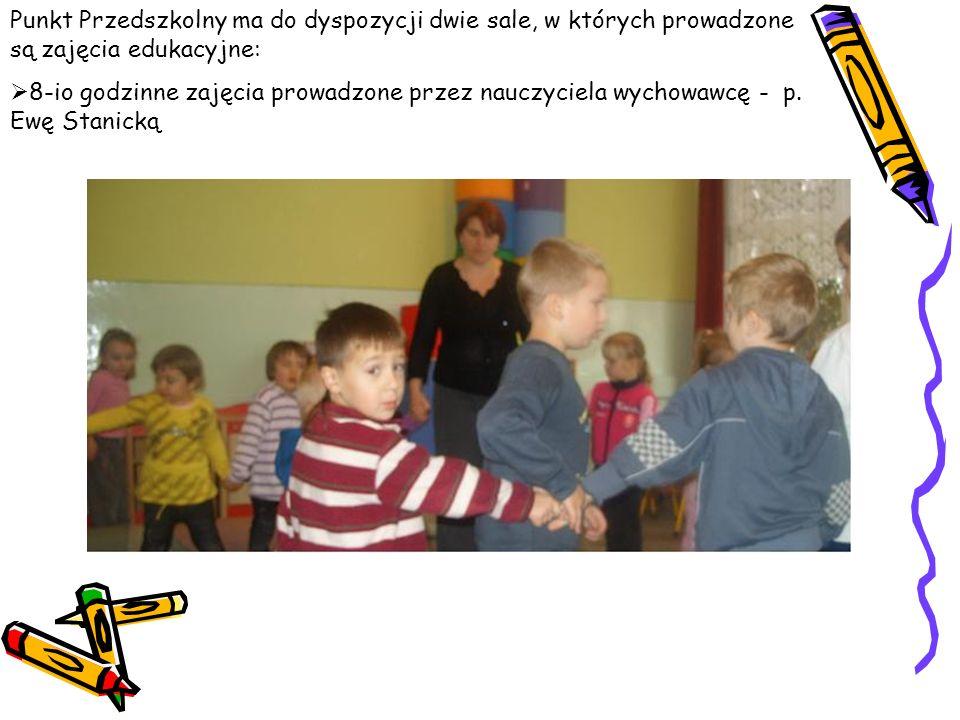 5-cio godzinne zajęcia prowadzone przez nauczyciela wychowawcę – p. Katarzynę Wieleba