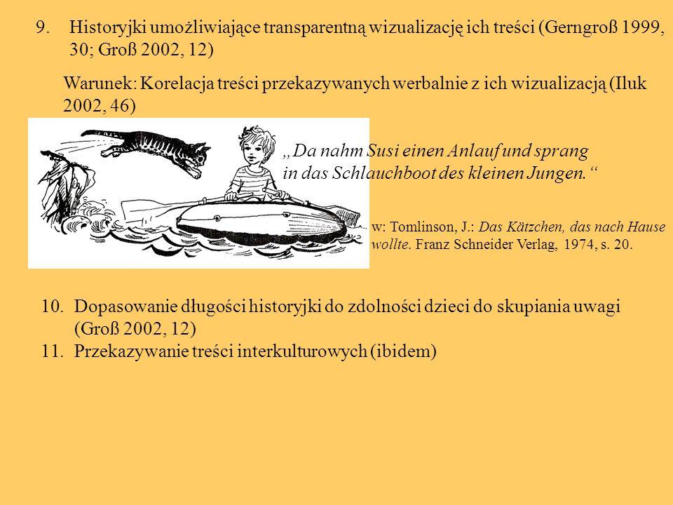 Kryteria językowe wyboru tekstów narracyjnych 1.