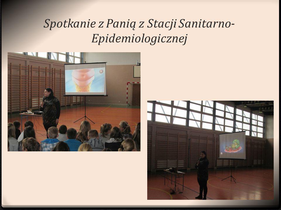 Spotkanie z, Spotkanie z Panią z Stacji Sanitarno- Epidemiologicznej