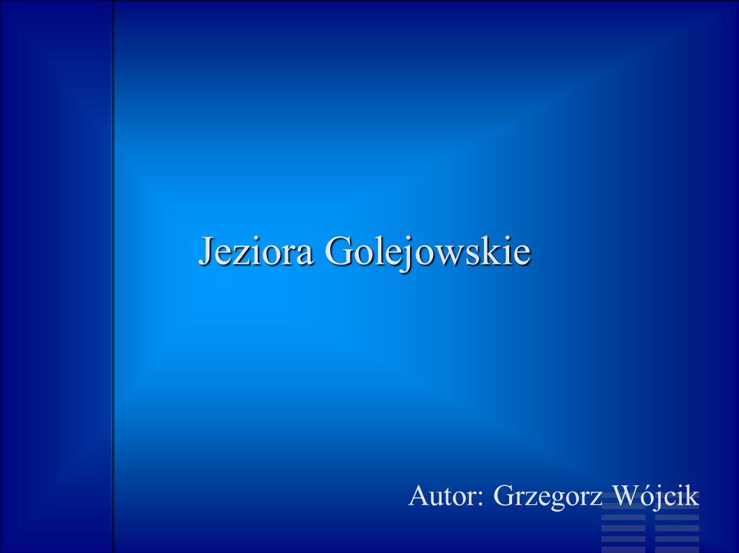 Jeziora Golejowskie Autor: Grzegorz Wójcik