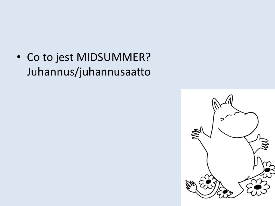 Co to jest MIDSUMMER? Juhannus/juhannusaatto