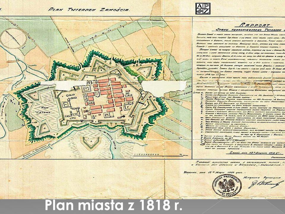 Plan miasta z 1818 r.