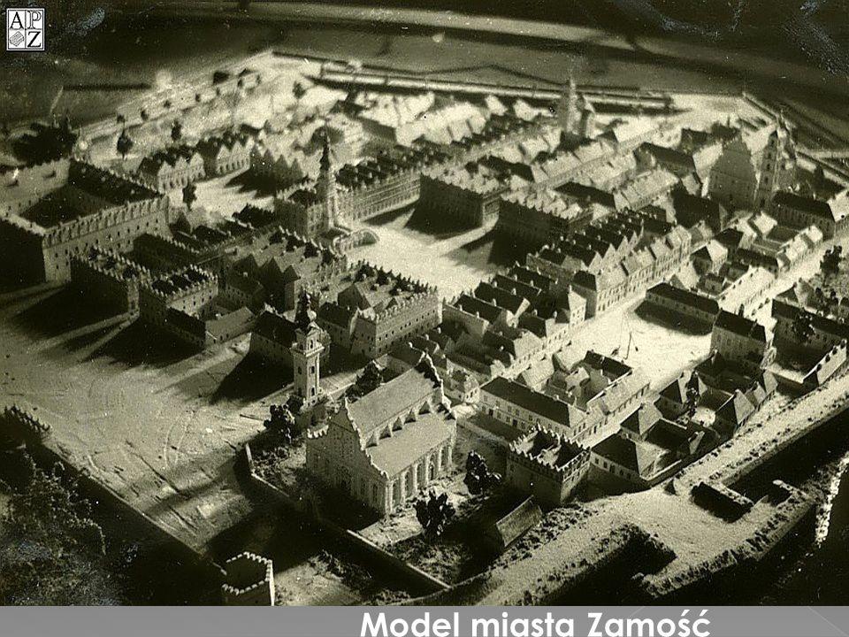 Model miasta Zamość