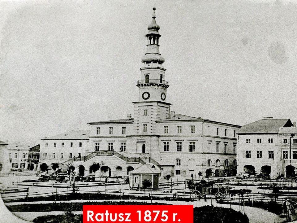 Ratusz 1875 r.
