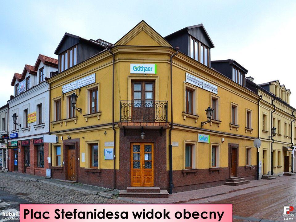 Plac Stefanidesa 1914 r.