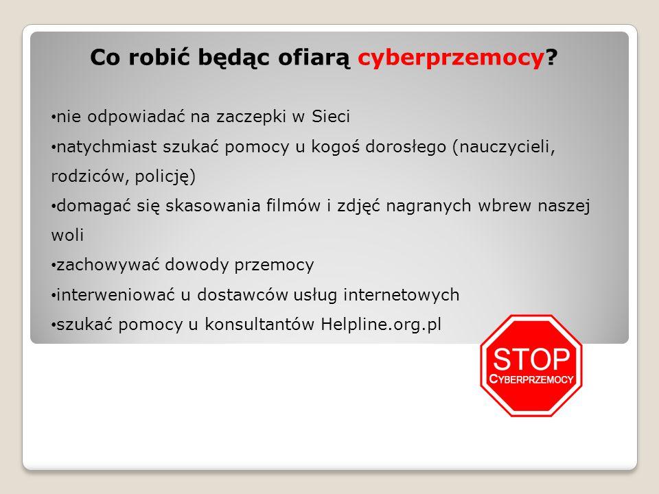 Konsekwencje cyberprzemocy są poważne, zwłaszcza w przypadku dzieci i młodzieży, którzy dopiero budują swoją tożsamość.