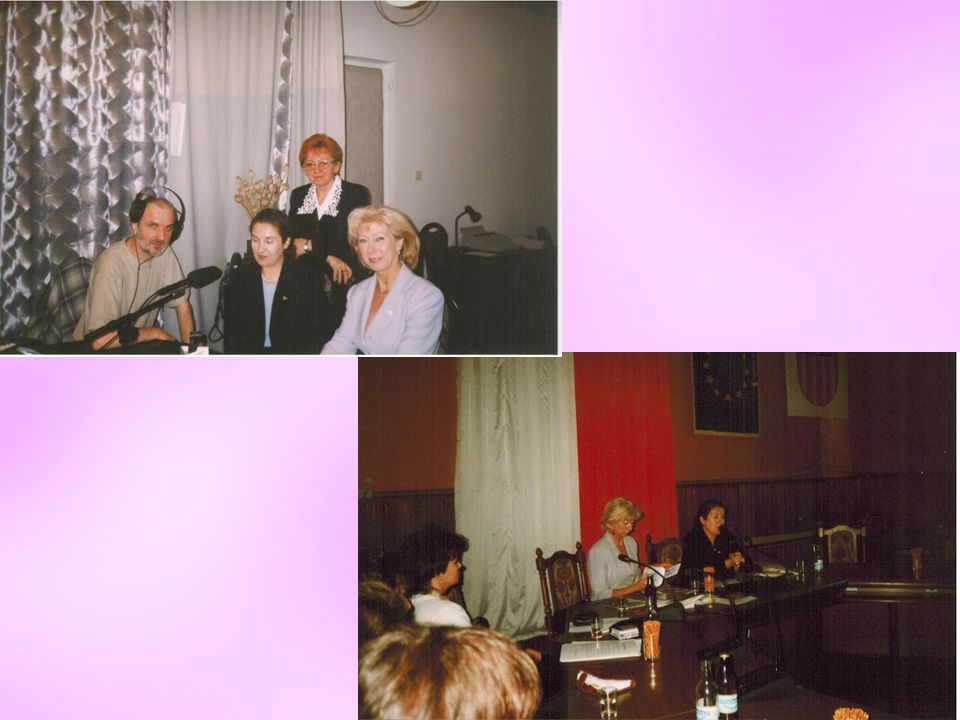 Bierzemy udział w V Zjeździe Delegatów Ogólnopolskiego Związku Ruchu Kobiet do Walki z Rakiem Piersi EUROPA DONNA w Legnicy Legnica 2003 r.