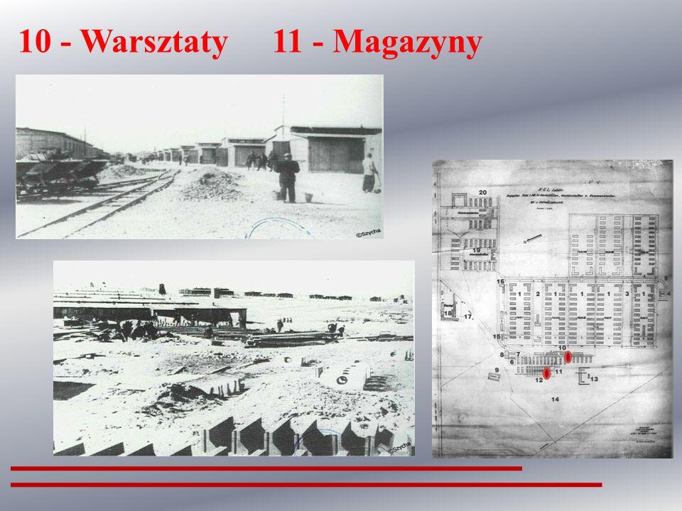 8 - Wiata i bunkier z komorami gazowymi
