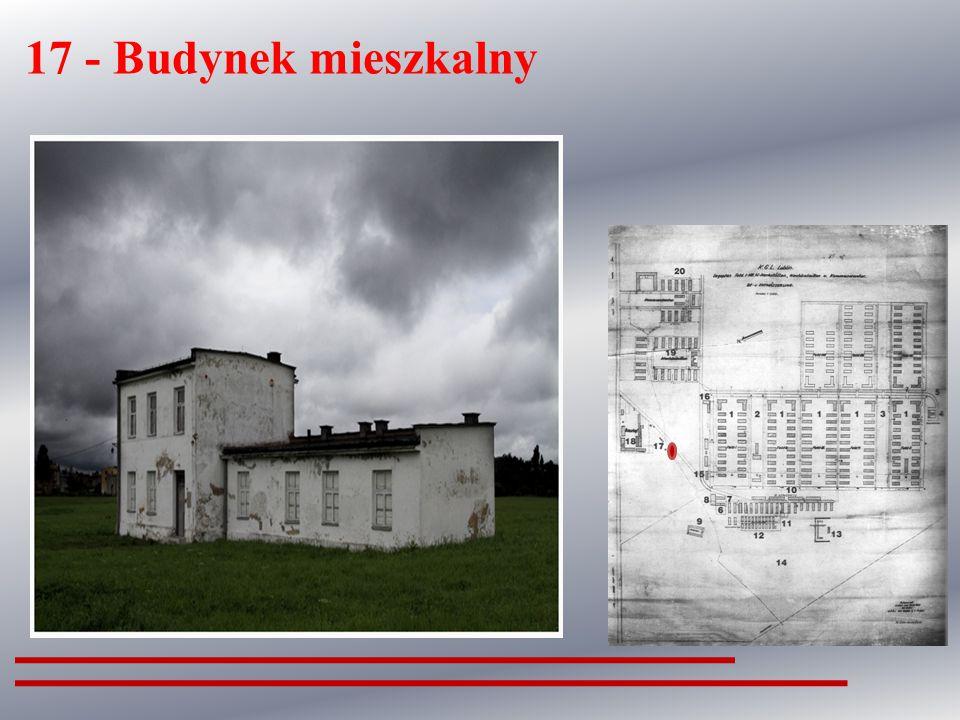 15- Kancelaria Oddziały III (obozu więźniarskiego)