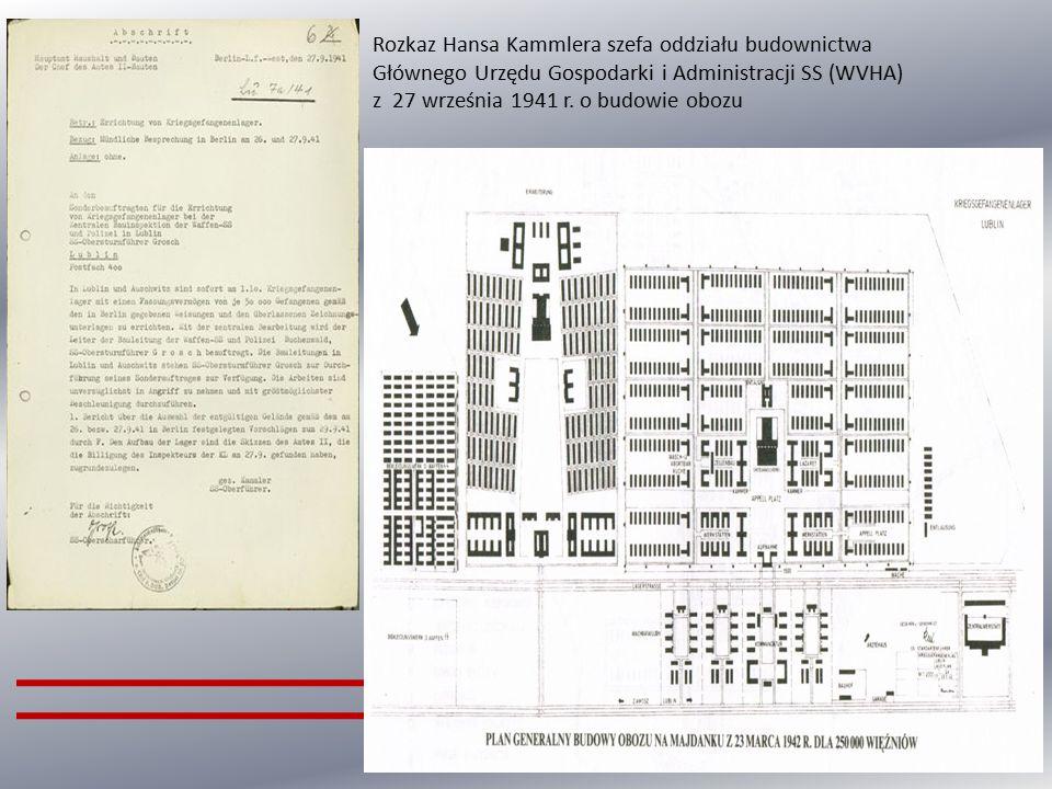 Niemiecki obóz koncentracyjny w Lublinie, nazywany potocznie Majdankiem, powstał na mocy decyzji Heinricha Himmlera, który w czasie swojej wizytacji w