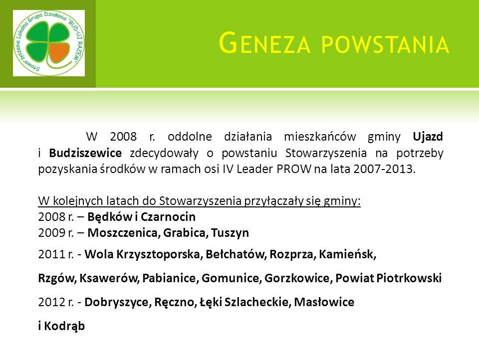 G ENEZA POWSTANIA W 2008 r.