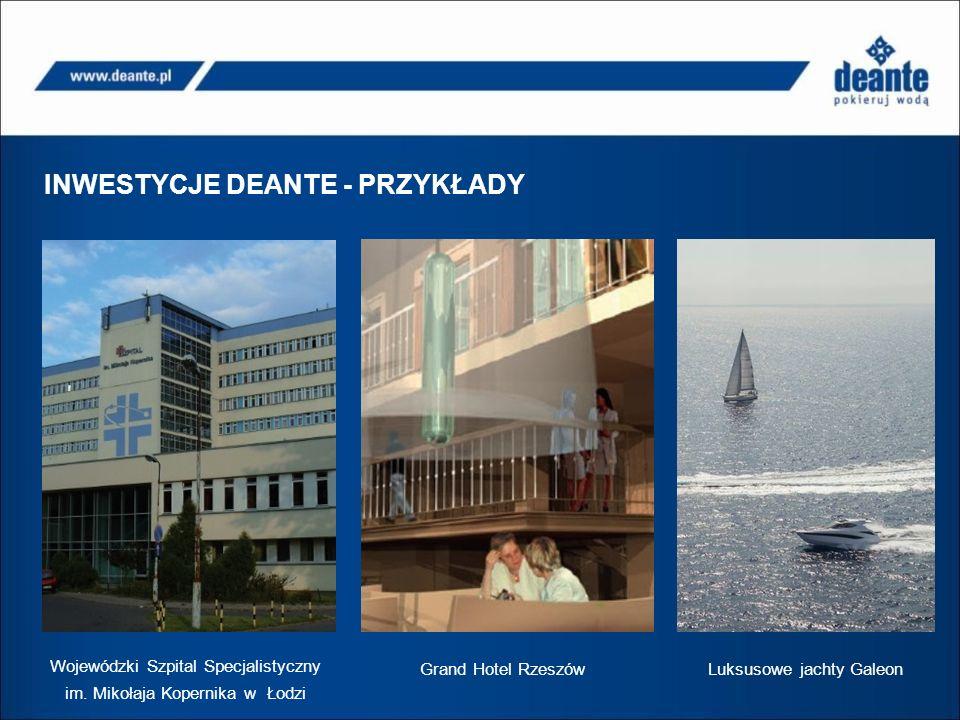 INWESTYCJE DEANTE – LISTY REFERENCYJNE Wojewódzki Szpital Specjalistyczny im.
