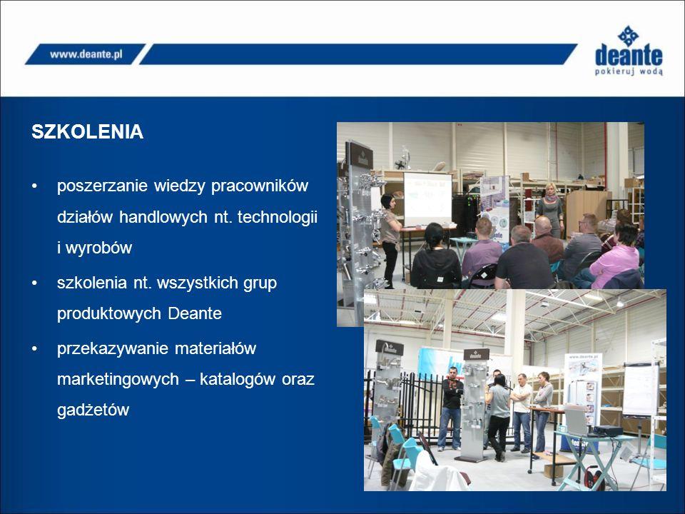 SZKOLENIA poszerzanie wiedzy pracowników działów handlowych nt.