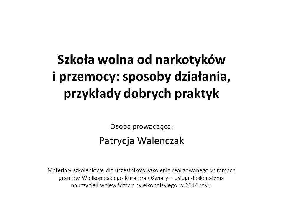 Literatura z zakresu tematyki profilaktyki w szkole Gaś Z.