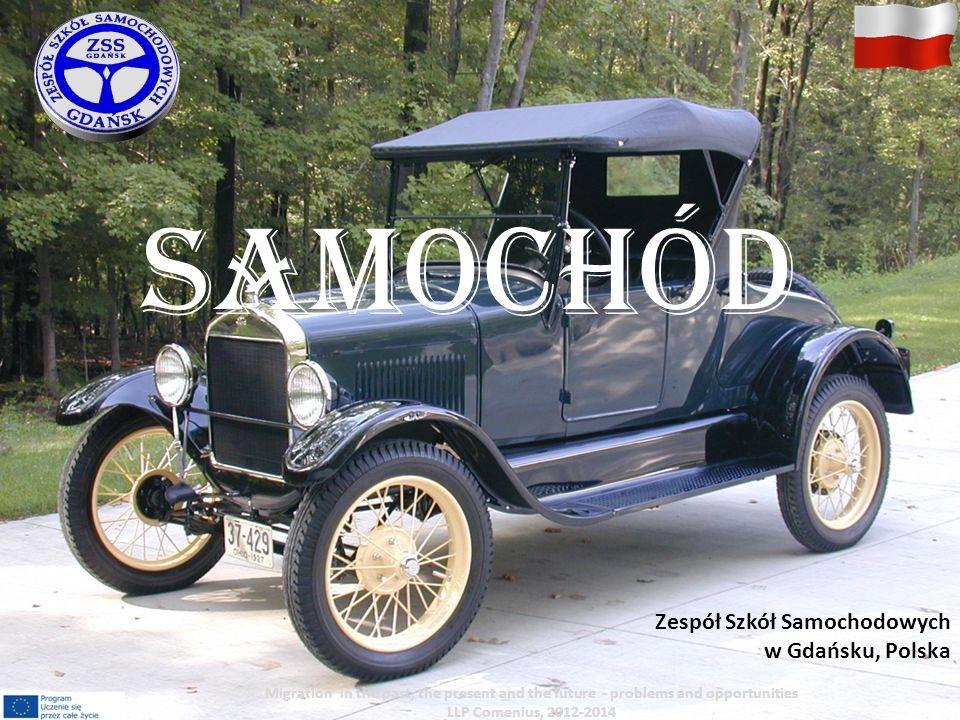 Samochód Pojazd mechaniczny z własnym napędem (silnik) i źródłem energii którym jest paliwo (gaz, olej napędowy, benzyna).