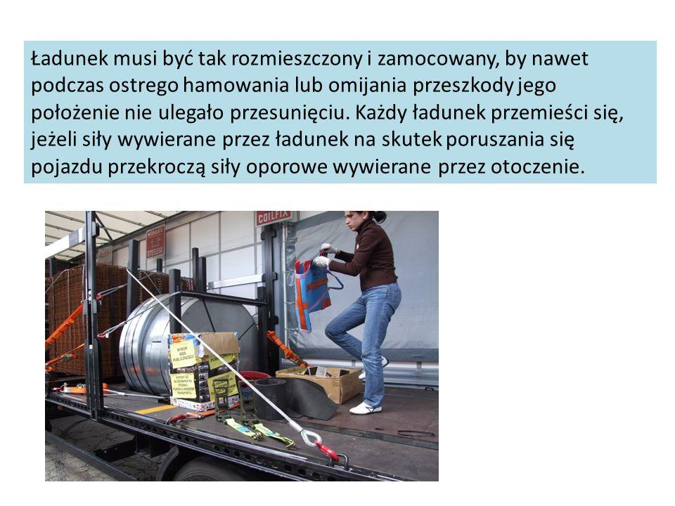 Źle zabezpieczony ładunek jako przyczyna śmiertelnego wypadku
