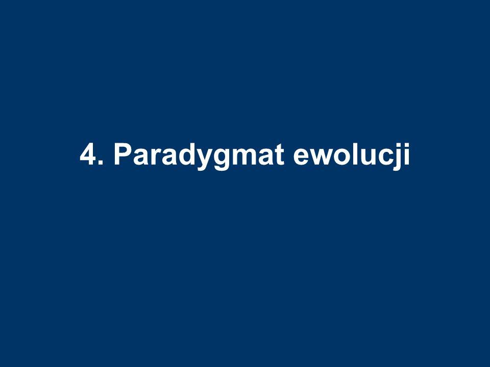 4. Paradygmat ewolucji
