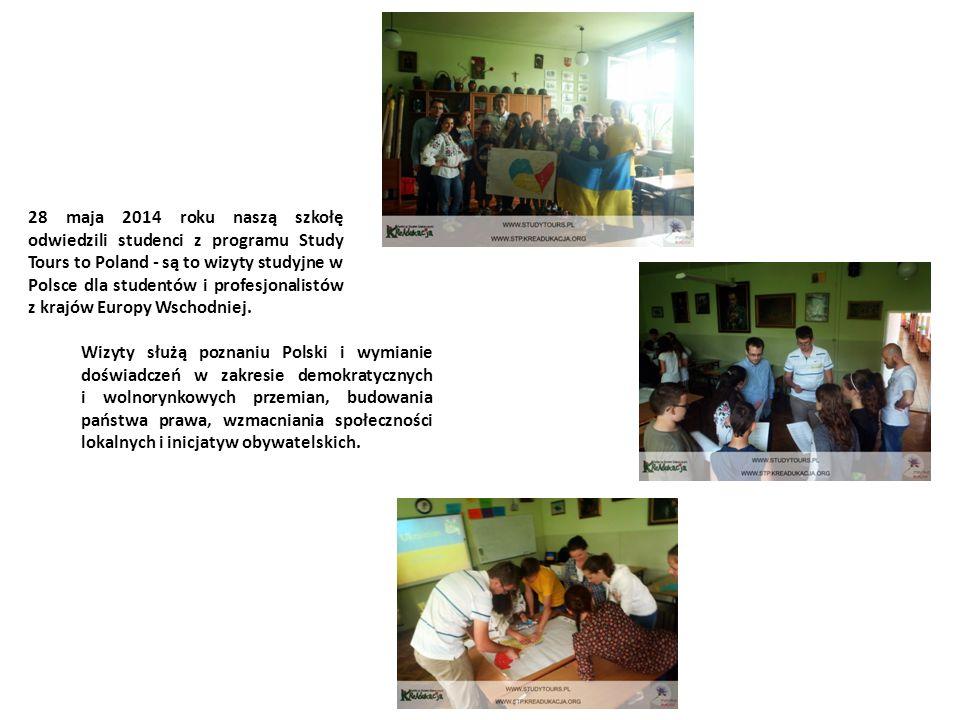 18 czerwca 2014r., w naszej szkole odbyło sie spotkanie z ojcem Filipem Buczyńskim, założycielem Lubelskiego Hospicjum dla Dzieci im.
