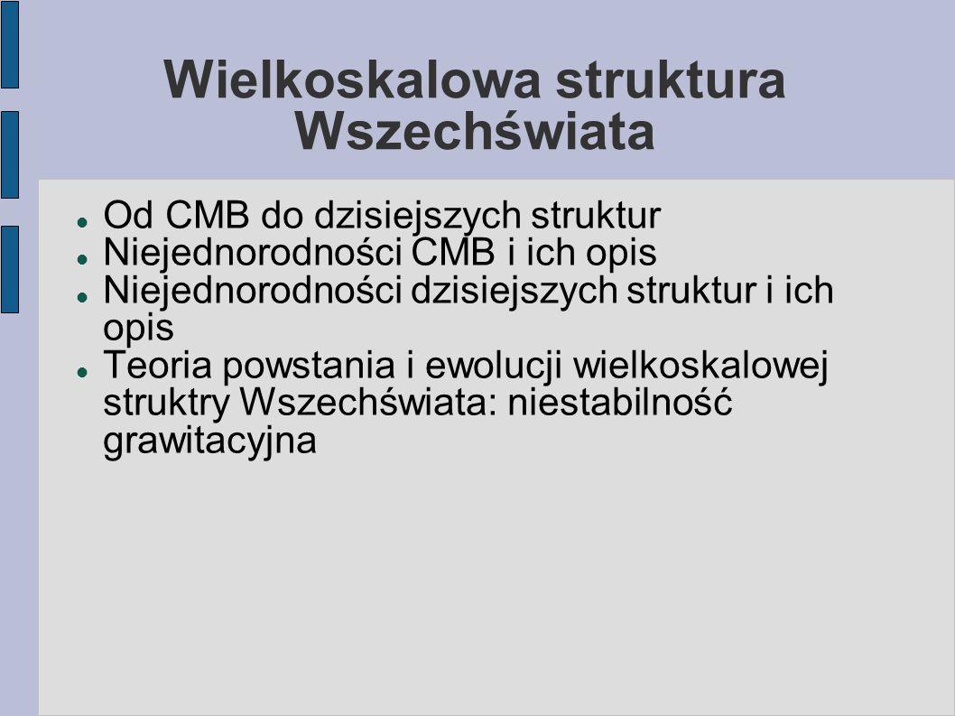 Mikrofalowe promieniowanie tła: obserwacje WMAP (5 lat)