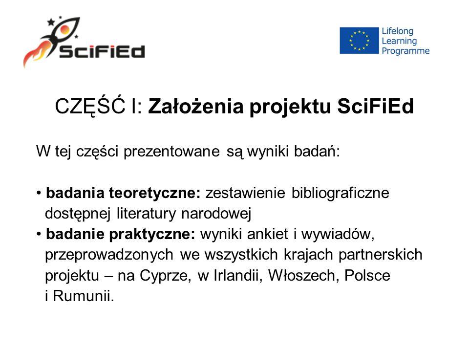 Rezultaty: We wszystkich krajach poza Polską i Rumunią literatura science- fiction jest na etapie rozwoju.