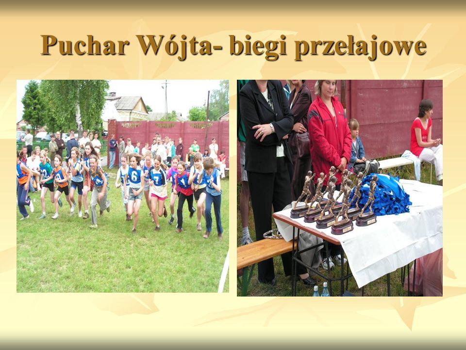 Puchar Wójta- biegi przełajowe