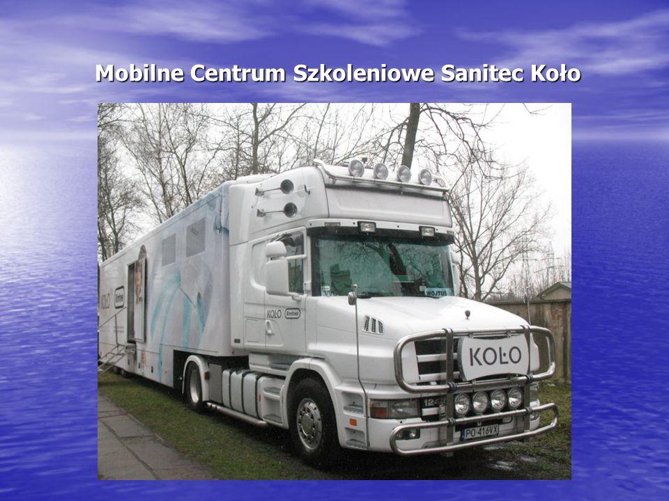 Mobilne Centrum Szkoleniowe Sanitec Koło Mobilne Centrum Szkoleniowe Sanitec Koło
